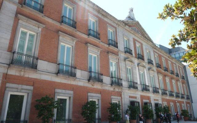 Le musée Thyssen-Bornemisza de Madrid. Illustration. (Crédit : Luis García/CC BY-SA 3.0/WikiCommons)