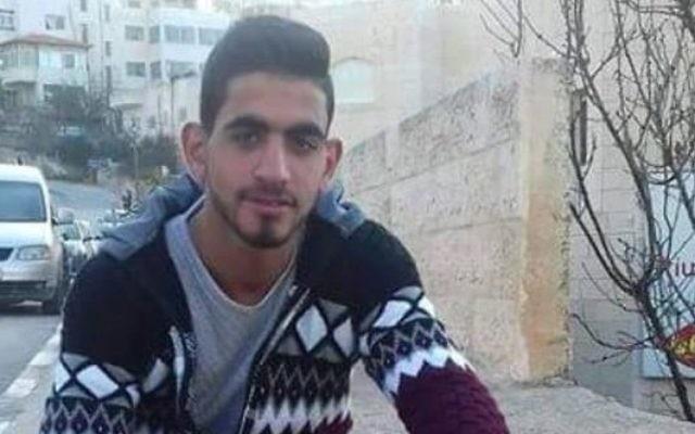 Omar al-Abed, le terroriste qui a tué trois Israéliens dans leur maison à Halamish, le 21 juillet 2017. (Crédit : Facebook)
