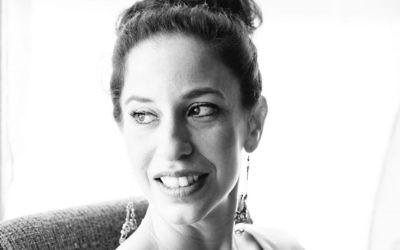 La journaliste Mya Guarnieri Jaradat. (Crédit : autorisation)