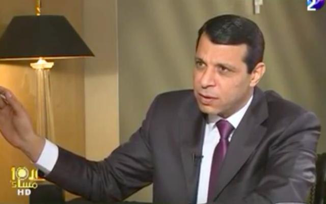 Mohammad Dahlane (Crédit : Capture d'écran YouTube)