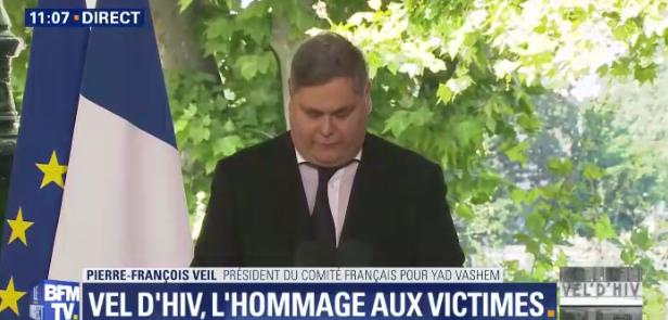 Pierre-François Veil (Crédit : Capture d'écran BFMTV)