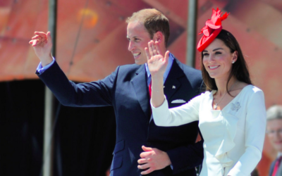 Le prince William, le duc de Cambridge et Kate, la duchesse de Cambridge en visite au Canada, en 2011 (Crédit : CC BY 2.0/Flicker/tsaiproject)