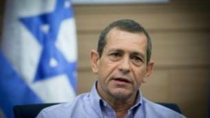 Le chef du Shin Bet, Nadav Argaman, assiste à une réunion du Comité des affaires étrangères et de la Défense à la Knesset le 20 mars 2017. (Crédit : Yonatan Sindel / Flash90)