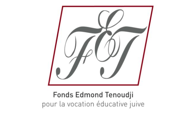 Logo du Fonds Edmond Tenoudji (Crédit : capture d'écran site FEJ)