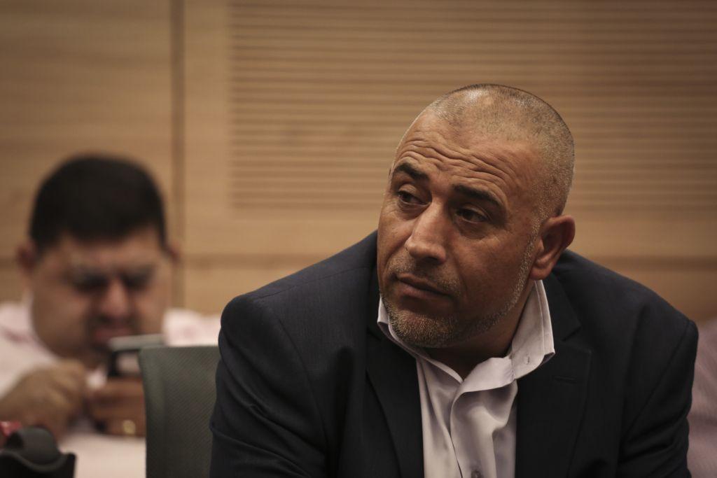 Le législateur Taleb Abu Arar. (Crédit : Hadas Parush/Flash90)