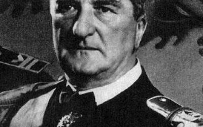 Miklos Horthy (Crédit : domaine public/Wikimedia commons)