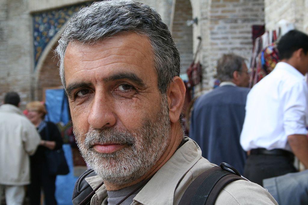 L'archéologue israélien, le professeur Israel Finkelstein, en mars 2017 (Crédit : Argonauter, CC-BY-SA, via wikipedia)