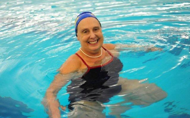 Jane Katz a fait sensation en natation et en gym aquatique durant de nombreuses décennies (Autorisation)