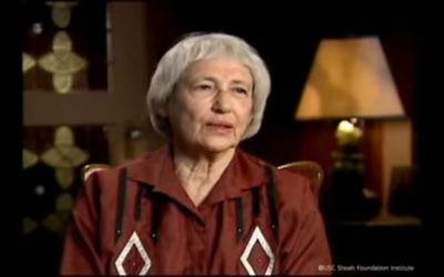 Margaret Bergmann Lambert. (Crédit : capture d'écran YouTube)