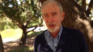 Le professeur Paul Ehrlich (Crédit : Capture d'écran YouTube)