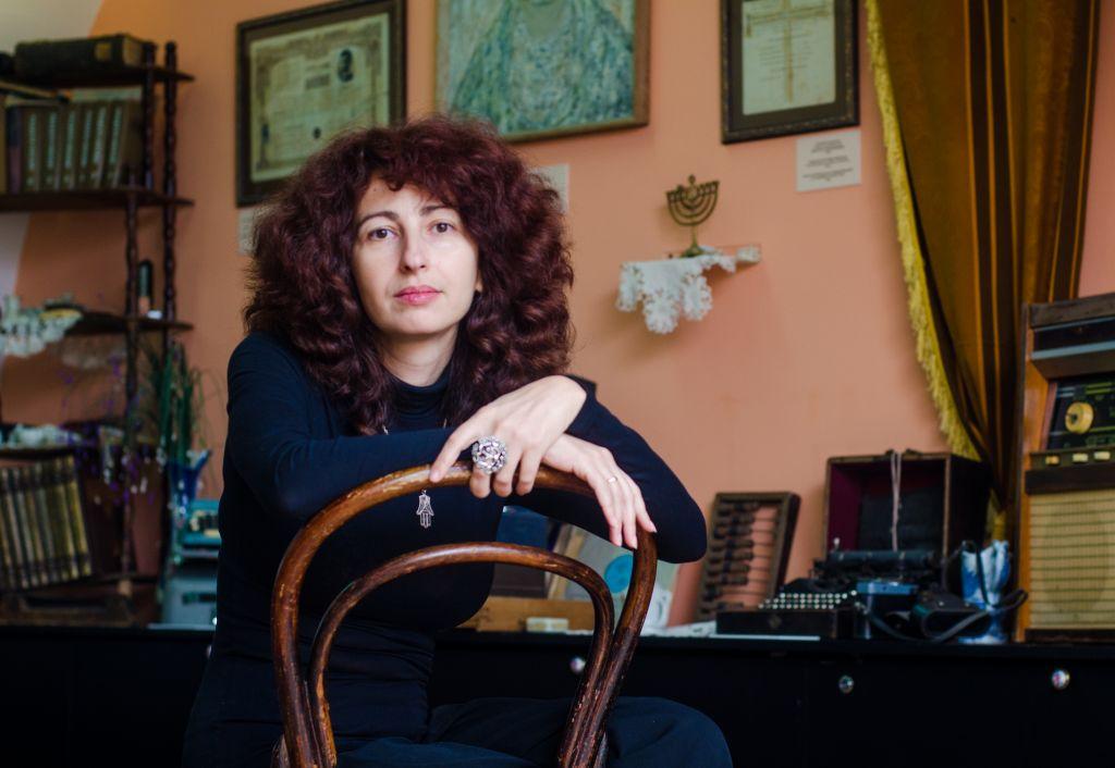 Irina Shikhova, conservatrice du musée du patrimoine juif en Moldavie. (Autorisation)