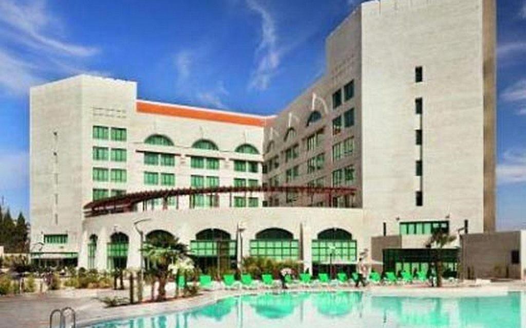 L'hôtel Millennium de Ramallah. (Crédit : HotelsCombined.com)