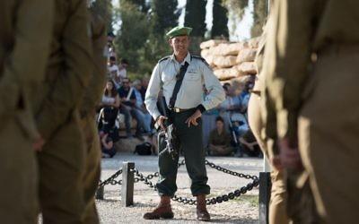 Elad Cohen, ancien commandant du bataillon Caracal. (Crédit : unité des porte-paroles de l'armée israélienne)