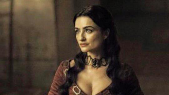 """L'actrice israélienne Ania Bukstein incarne Kinvara dans la dernière saison de """"Game of Thrones"""". (Crédit : Ania Bukstein Facebook page)"""
