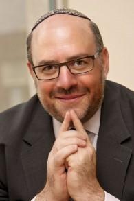 Le rabbin Steven Wernick (Crédit : Ethan Weg)