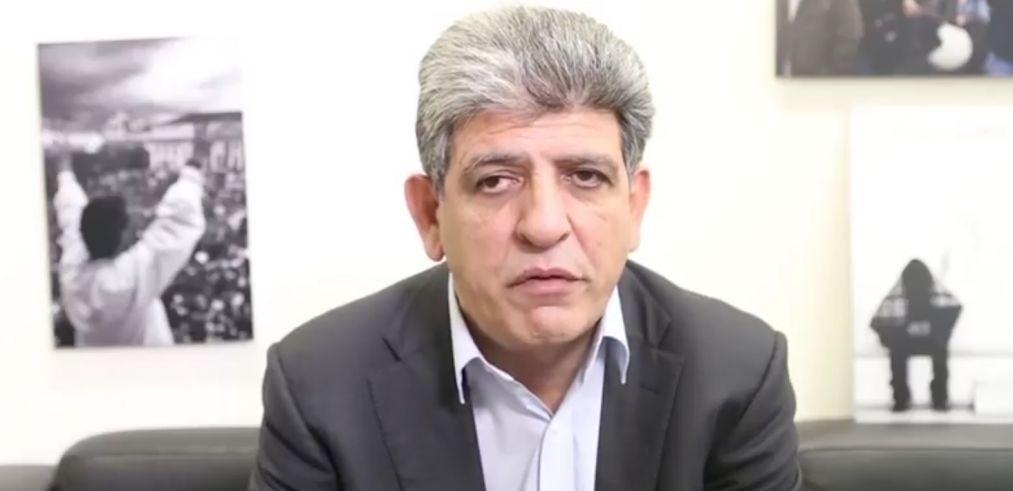 Le député européen de Chypre, Neoklis Sylikiotis, en2107 (Crédit : Capture d'écran YouTube)