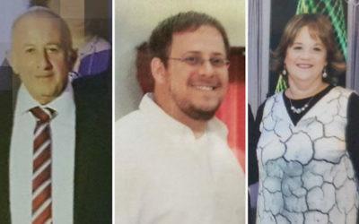 Yosef, Elad et Chaya Salomon, poignardés à mort à Halamish, en Cisjordanie, le 21 juillet 2017. (Crédit : autorisation)