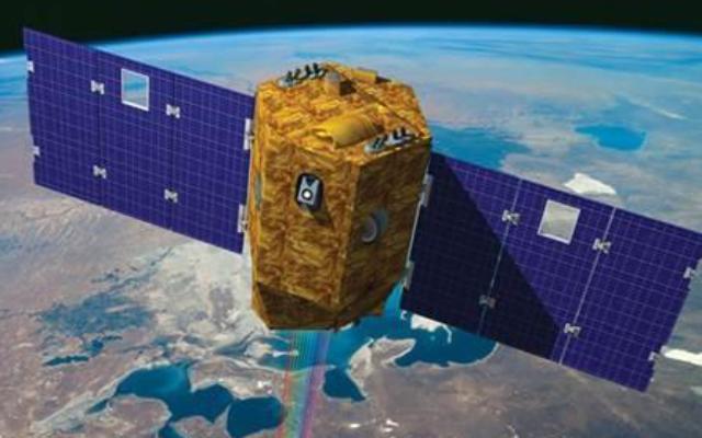 Un rendu artistique du satellite Venus, premier satellite israélien de recherche environnementale qui devrait s'élancer le 2 août  2017. (Crédit : Agence spatiale israélienne )