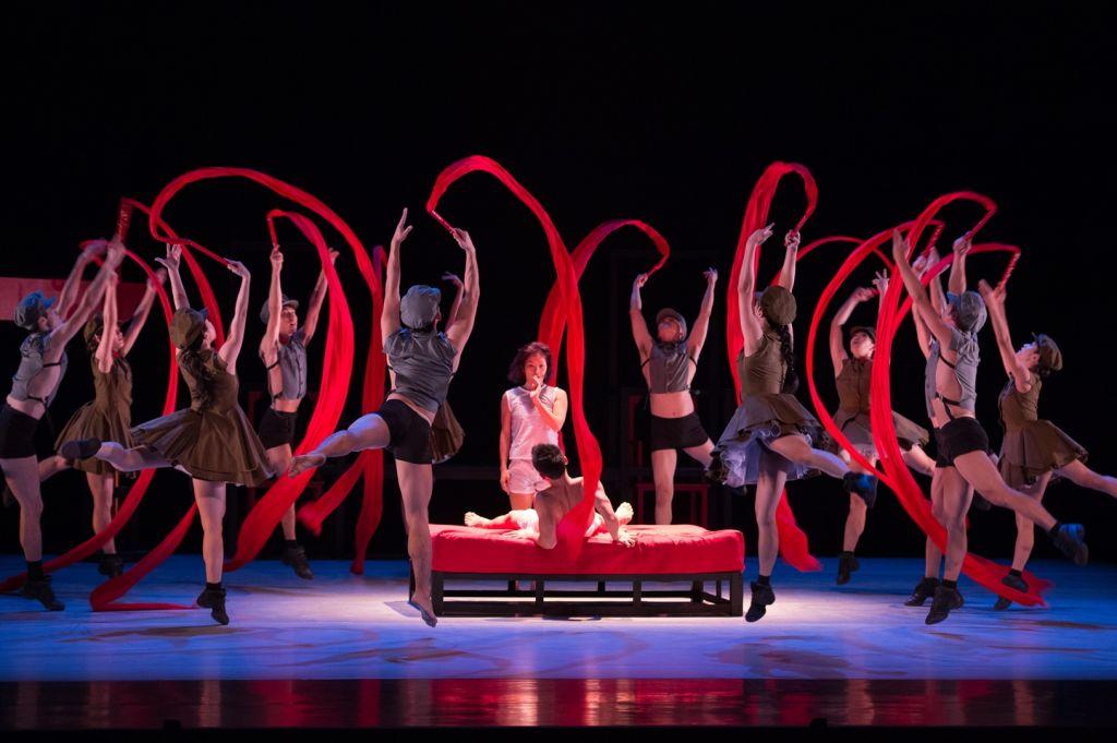 La compagnie de danse contemporaine de la ville de Hong Kong (Autorisation : Conrado Dy-Lia)