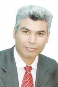 Said Alharomi, nouveau député de la Liste arabe unie. (crédit : autorisation)