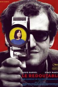 """L'affiche du film """"Le redoutable"""", réalisé par Michel Hazanavicius. (Crédit : Facebook)"""