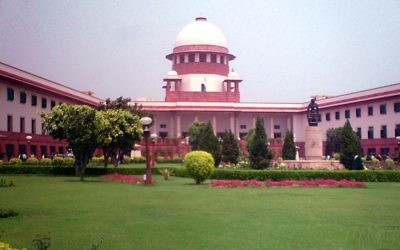 La cour suprême indienne. Illustration. (Crédit : Legaleagle86/CC BY-SA 3.0/WikiCommons)