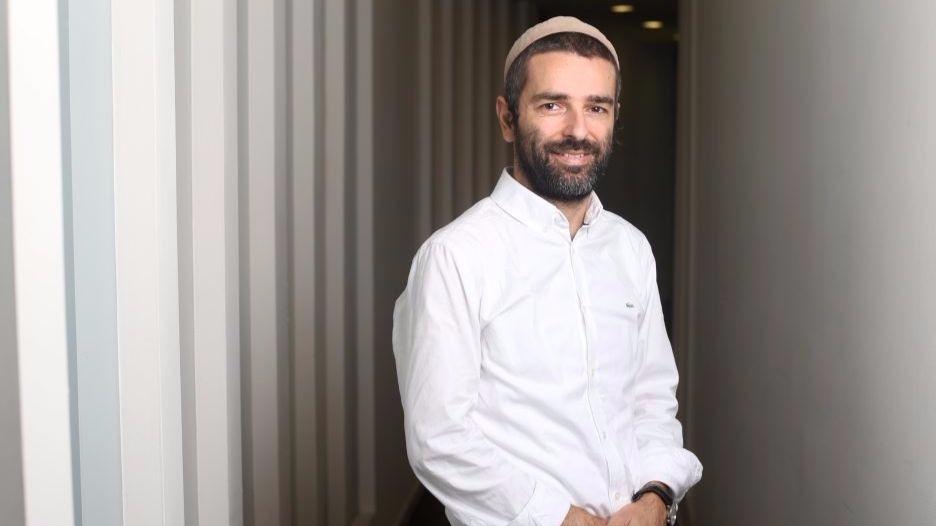 Max Bluvband, PDG et cofondateur d' AppsVillage. (Crédit : autorisation)