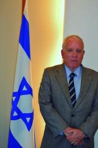 Le consul d'Israël à Sao Paulo, Dori Goren. (Crédit : autorisation)