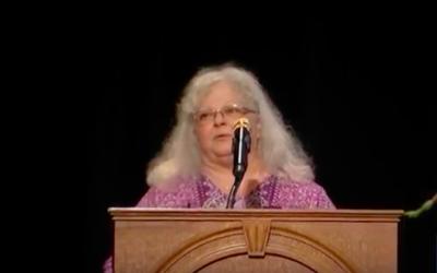 Susan Bro (Crédit : Capture d'écran C-SPAN)