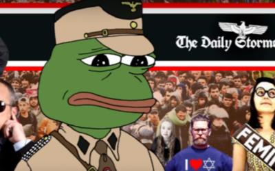 The Daily Stormer (Crédit : capture d'écran YouTube)