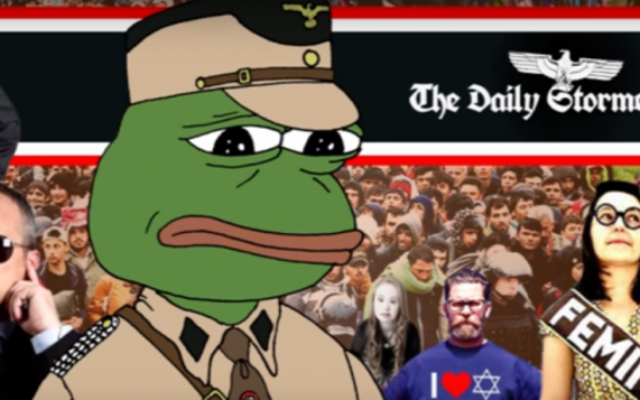 The Daily Stormer (Crédit : capture d'écran YouTube)