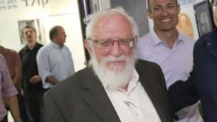 Le rabbin Yisrael Rosen, en juillet 2016. (Crédit : Gershon Elinson/Flash90)