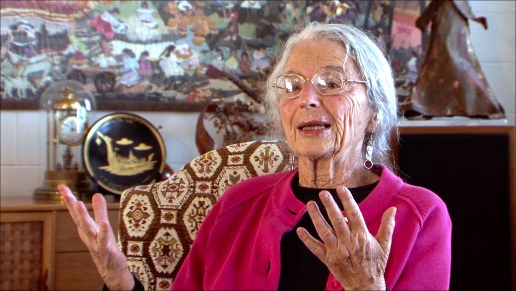 Marion Finkels Kreith, 90 ans, se souvient que sa famille a trouvé refuge à Cuba durant la Shoah, dans le documentaire de sa fille Judy Kreith, 'Cuba's Forgotten Jewels.' (Autorisation)