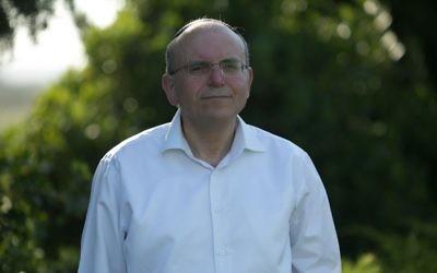 Meir Ben-Shabbat, qui a été nommé conseiller de la sécurité nationale le 13 août 2017 (Autorisation)