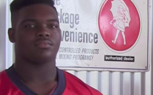 Le footballeur et futur hébréophone Kobie Whiteside (Capture d'écran : YouTube)