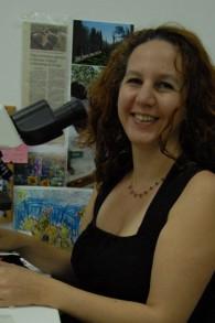 La professeure Dafna Langgut est à la tête du laboratoire d'archéobotanique à l'Université de Tel Aviv (Autorisation)