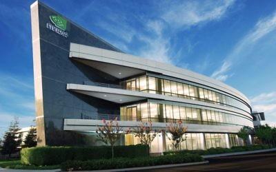 Le siège de Nvidia Santa Clara (Crédit : Autorisation)