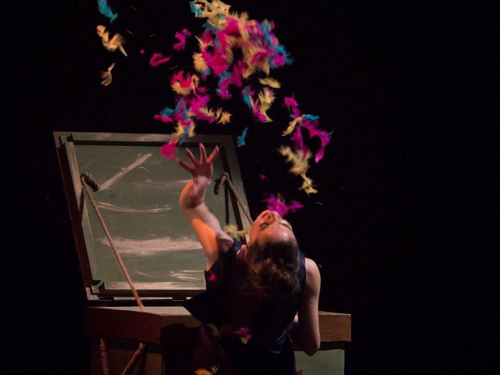 La Compañía Sara Calero, venue d'Espagne à Tel Aviv Dance (Autorisation : Sara Fernando Marcos)