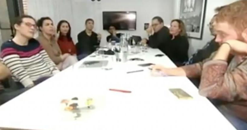 Les membres des Nouveaux Likudniks sur la Deuxième chaîne lors d'une émission télévisée sur la faction du parti Likud (Crédit : Capture d'écran YouTube)