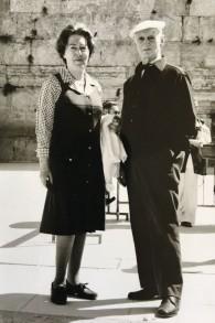 Fritzi et Otto à Jérusalem, en 1967. (Autorisation)