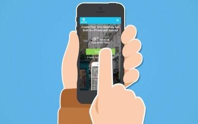 AppsVillage vise à aider les entreprises à créer leur propre application rapidement (Crédit : Capture d'écran YouTube)