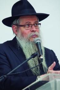 Le rabbin David Weitman, directeur de Ten Yad. (Crédit : autorisation)