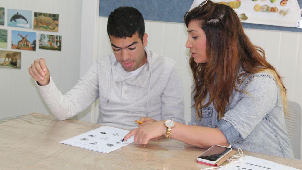 Le projet Alut propose un cadre pour des jeunes hommes autistes. (Crédit : Shmuel Bar-Am)