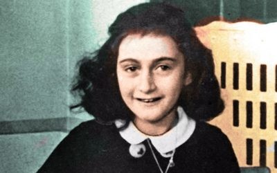Anne Frank. (Crédit : Flickr Commons)
