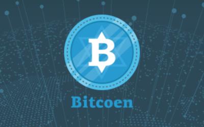"""Un entrepreneur russe va lancer début octobre une monnaie virtuelle """"cashère"""", le Bitcoen (Crédit: capture d'écran site Bitcoen.io)"""