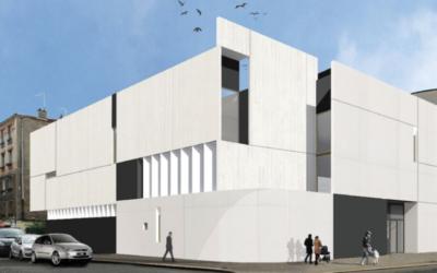Maquette du futur centre communautaire juif de Boulogne (Crédit: site du CCIBB)