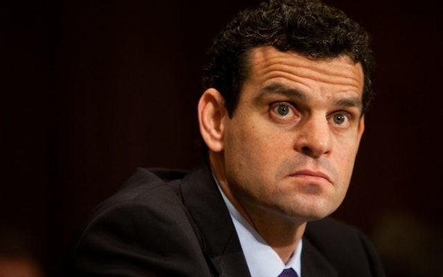 David Cohen, ancien numéro deux de la CIA, en 2011. (Crédit : Brendan Hoffman/Getty Images via JTA)