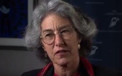 La doyenne de la faculté de théologie de l'université de Chicago Laurie Zoloth (Capture d'écran : YouTube)