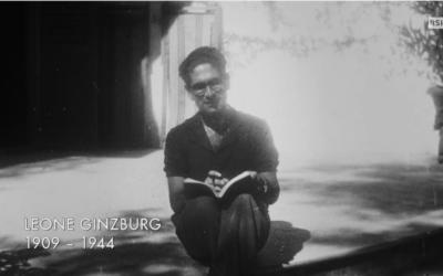 Leone Ginzburg, professeur, éditeur et résistant (Crédit: capture d'écran Youtube/RSI)
