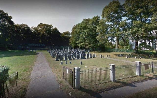 Une vue du cimetière des Pays-Bas à  Boston (Capture d'écran : Google Maps)